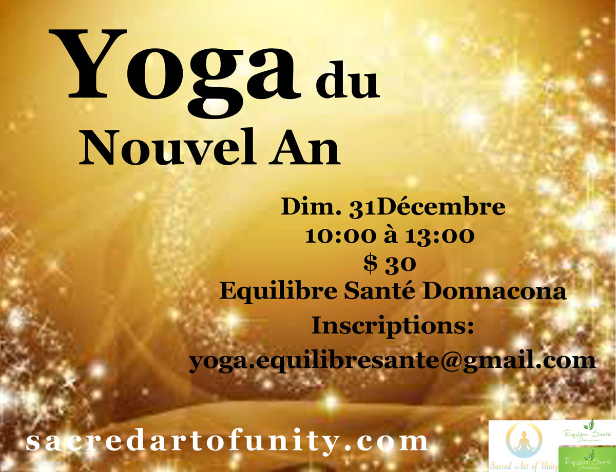 Yoga du Nouvel An Quebec 2018